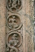 Ancient Buddhist Carving poster