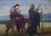 picture of christchild  - Flight to Egypt - JPG