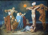 12th Station of the Cross, Crucifixion: Jesus is nailed to the cross
