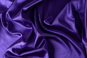 Texture, Background. Template. Silk Fabric Violet, Violet Silk Drapery And Upholstery Fabric From Th poster