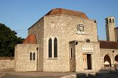 foto of carmelite  - Aylesford Priory at Aylesford in Kent England a religious home dating back to the 13th century and belonging to the Carmelite order of the Catholic church - JPG