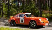 Постер, плакат: Porsche 911 T от 1972 года