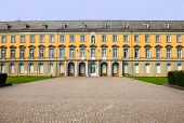 picture of bonnes  - Detail of main building of university in Bonn Germany - JPG