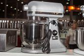 picture of food processor  - Food processor on the exhibition and sale of equipment - JPG