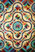 Stained Glass Quilt Pattern