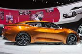 Detroit - January 26 :the Nissan Sport Sedan Concept At The North American International Auto Show J