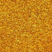 stock photo of gold glitter  - Scattering a of small nuggets of gold - JPG
