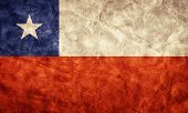 picture of high-quality  - Chile grunge flag - JPG