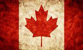 pic of high-quality  - Canada grunge flag - JPG