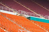 picture of bleachers  - stadium - JPG