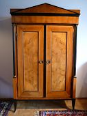 stock photo of armoire  - German cupboard - JPG