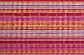 stock photo of backround  - Oriental textile backround with red - JPG