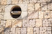 image of wall-stone  - Old stone wall - JPG