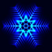pic of cosmic  - The Abstract cosmic snowflake star - JPG