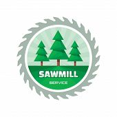 picture of sawing  - Sawmill service  - JPG