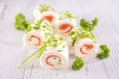 pic of canapes  - finger food - JPG