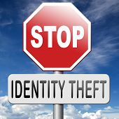 picture of theft  - identity theft stealing ID online stop internet or cyber crime - JPG