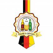 picture of beer mug  - Brewed in Germany  - JPG