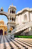 image of krishna  - Sri Krishna Balaram temple in Vrindavan - JPG