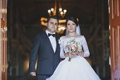 foto of ceremonial clothing  - beautiful and happy moments of the wedding ceremony - JPG