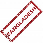 image of bangladesh  - New Bangladesh grunge rubber stamp on a white background - JPG