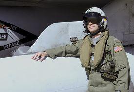 stock photo of fighter plane  - U - JPG