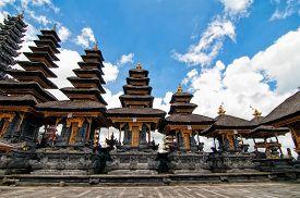 stock photo of hindu  - Besakih temple in Bali island - JPG