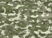 stock photo of camoflage  - excellent background vector illustration of disruptive  camouflage material - JPG