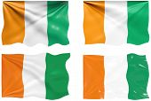 Great Image of the Flag of Cote d'Ivoire Ivory Coast