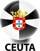 pic of ceuta  - Flag Ceuta Orb - JPG
