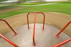 foto of merry-go-round  - Children - JPG