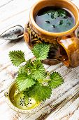Healing Tea With Nettle poster