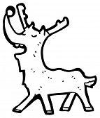 pic of rudolf  - rudolf cartoon  - JPG