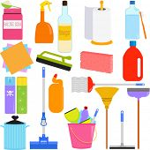 stock photo of disinfection  - Vector Icons  - JPG