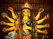 stock photo of mahi  - Deity of Maa Durga - JPG
