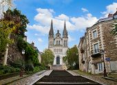 St Maurice cathedral, Angers, France