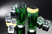 pic of absinthe  - Two glasses of absinthe - JPG