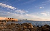 France, Cote D'azur. Antibes Panorama