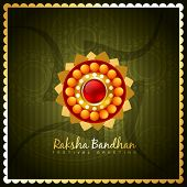 stock photo of rakshabandhan  - vector hindu festival of rakshabandhan - JPG
