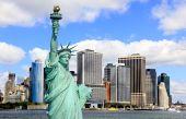The Lower Manhattan Skylines poster