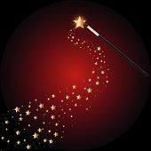 picture of magic-wand  - Vector  - JPG