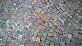 picture of porphyry  - italian porphyry pavement  - JPG