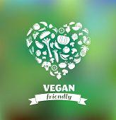 foto of vegan  - vegetarian and vegan - JPG