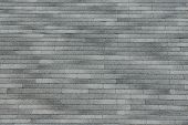 stock photo of shingles  - Grey shingle background texture in various shades - JPG