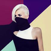 picture of ninja  - Blond ninja lady style - JPG