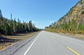 foto of trans  - Trans Canada Highway near Superior Lake Ontario Canada - JPG