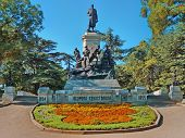 picture of hitler  - Monument to war of 1854 in Sevastopol a monument to general Totleben - JPG