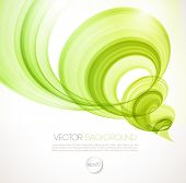 stock photo of typhoon  - Vector Abstract twist waves  background - JPG