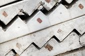 picture of stairway  - Abstract industrial construction background - JPG