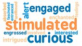 foto of stimulation  - Stimulated word cloud on a white background - JPG